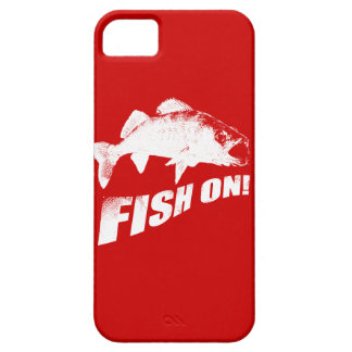Fish on walleye iPhone 5 cases