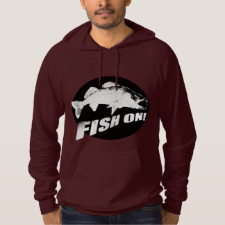 Fish on walleye pullover