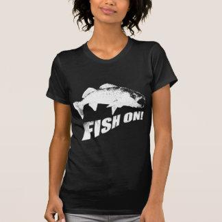 Fish on walleye T-Shirt