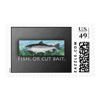 Fish, or Cut Bait. Postage Stamp