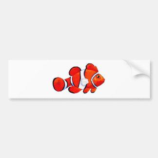 Fish Orange Vero Beach 2010 The MUSEUM Zazzle Gift Bumper Sticker