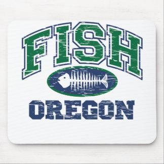 Fish Oregon Mouse Pad
