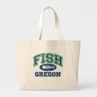 Fish Oregon Tote Bag