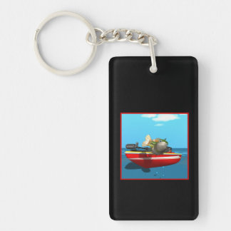 Fish Out Of Water Keychain