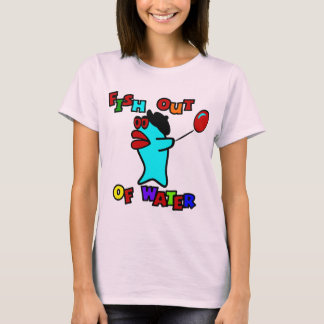 Fish Out Of Water With Billy, The Standing Fish T-Shirt