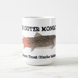 Fish Outer Mongolia- Taimen Trout Mug