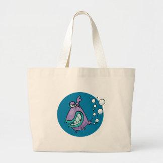 Fish PARP! Large Tote Bag