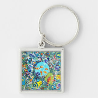 Fish Party Keychain