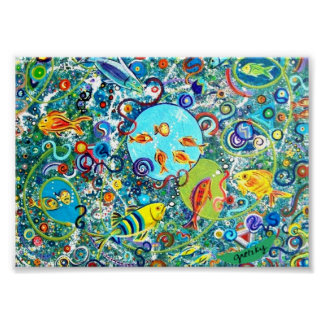 Fish Party Poster