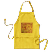 FISH PATTERN ADULT APRON