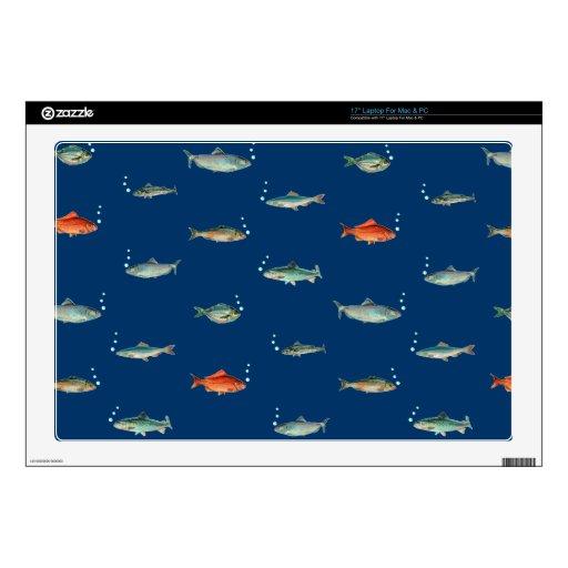 Fish Pattern Laptop Skin