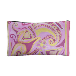 FISH PATTERN MAKEUP BAG