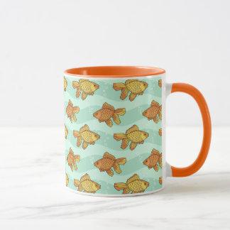 Fish-pattern Mug