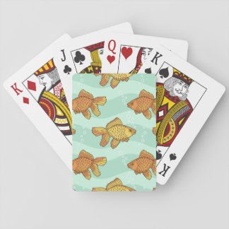 Fish-pattern Deck Of Cards