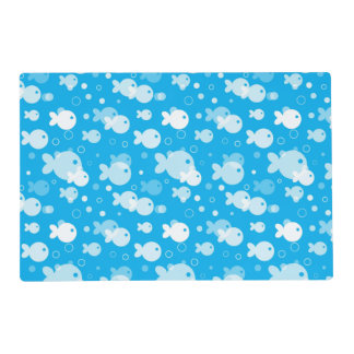 fish pattern placemat
