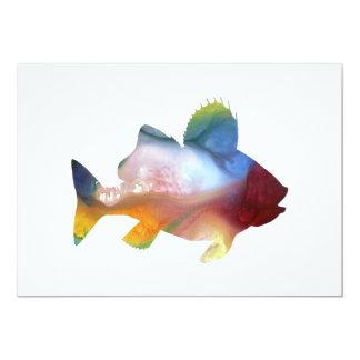 Fish (Perch) Art Card
