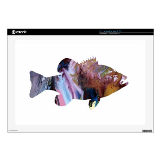 Fish (Perch) Art Skin For Laptop