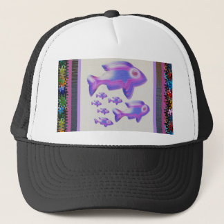 FISH Pet Aquarium Decorations KIDS Room Fun GIFTS Trucker Hat