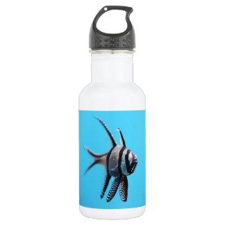Fish 18oz Water Bottle