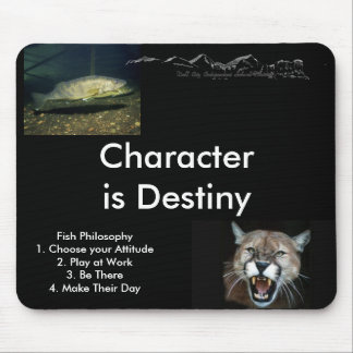 Fish Philosophy... - Customized Mouse Pad