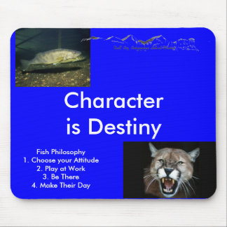 Fish Philosophy... Mouse Pad