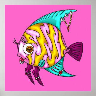 Fish Piercings Poster
