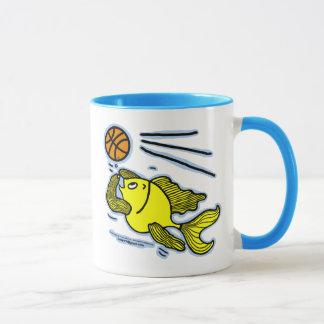 Fish Playing Basketball Mug