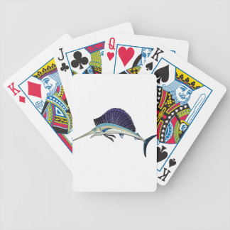 Fish Bicycle Playing Cards