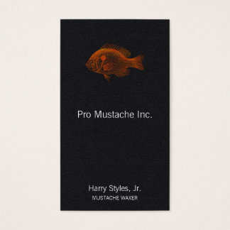 Fish Pomotis Breviceps Business Card
