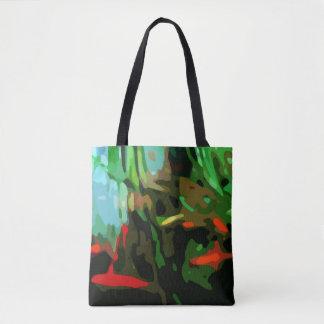 Fish Pond Tote Bag