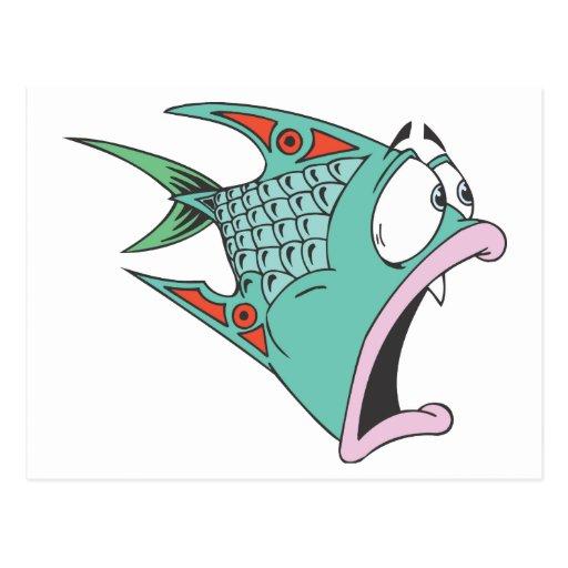 Fish Postcard