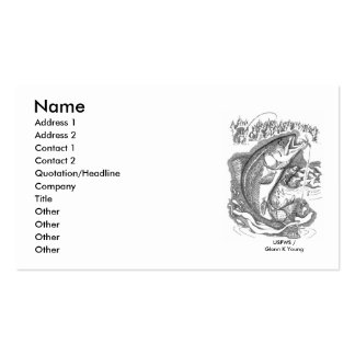 Fish / Rainbow Trout Business Card