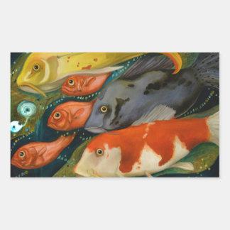 Fish Rectangular Sticker
