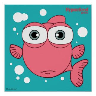 "Fish Red 20"" x 20"", Poster Paper (Semi-Gloss)"