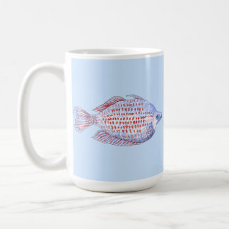 Fish. Red Line Rainbowfish. Coffee Mug