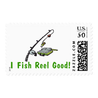 Fish Reel Good Postage