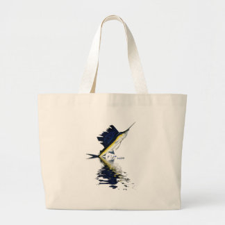 Fish Reflections Collection of Fish Shirts Large Tote Bag