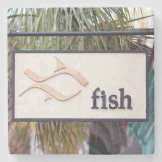 Fish Restaurant Charleston, SC. Marble Stone Coast Stone Coaster