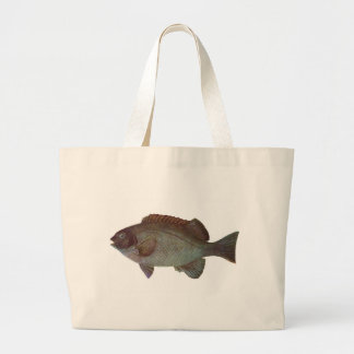 Fish - Rock Blackfish - Girella elevata Tote Bags