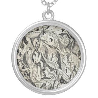 Fish Round Pendant Necklace