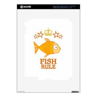 Fish Rule Skins For iPad 3