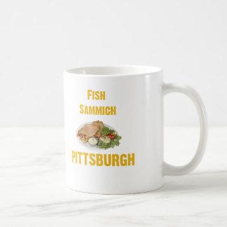 Fish Sammich Classic White Coffee Mug