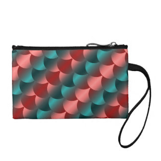 Fish Scale Abstract Coin Purse
