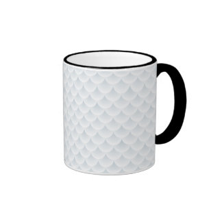 fish scale abstract vector background coffee mug