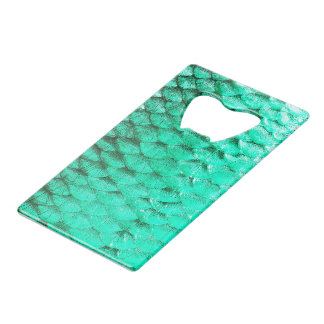 """Fish scale Speed bottle opener"" Credit Card Bottle Opener"