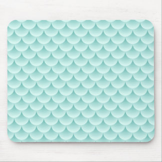 Fish Scales Pattern Mouse Pad