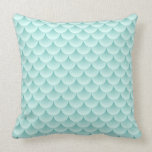 Fish Scales Pattern Pillow