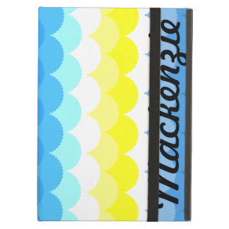 Fish Scales Scallops iPad Covers