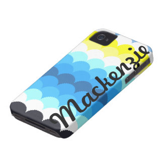 Fish Scales Scallops iPhone 4 Case