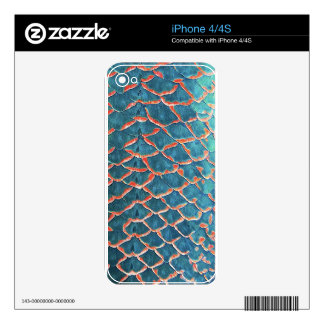 Fish Scales Skins For The iPhone 4S